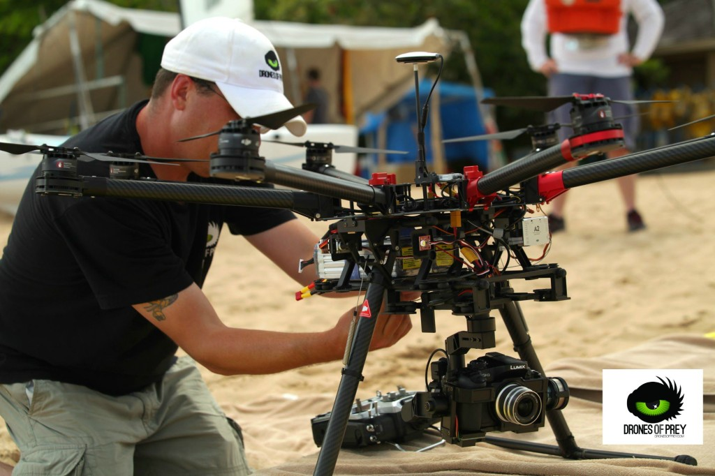 beach videography shoot done via drone - captures more than what a camera can