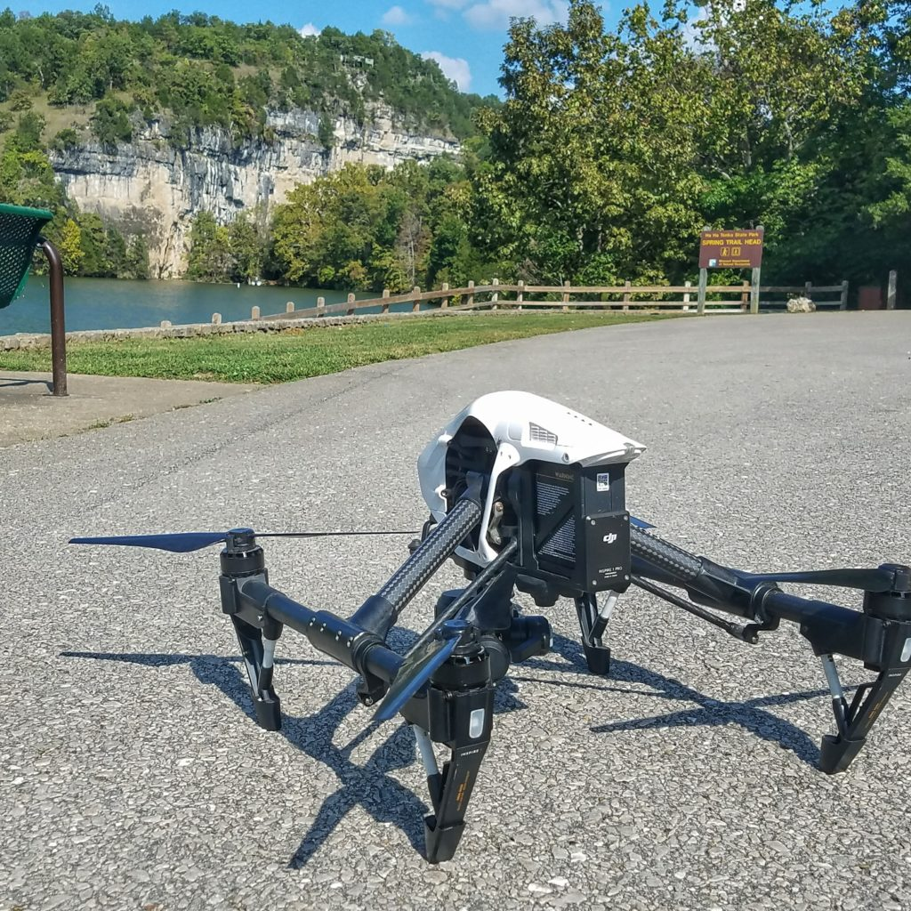 Drones are used frequently in the film industry