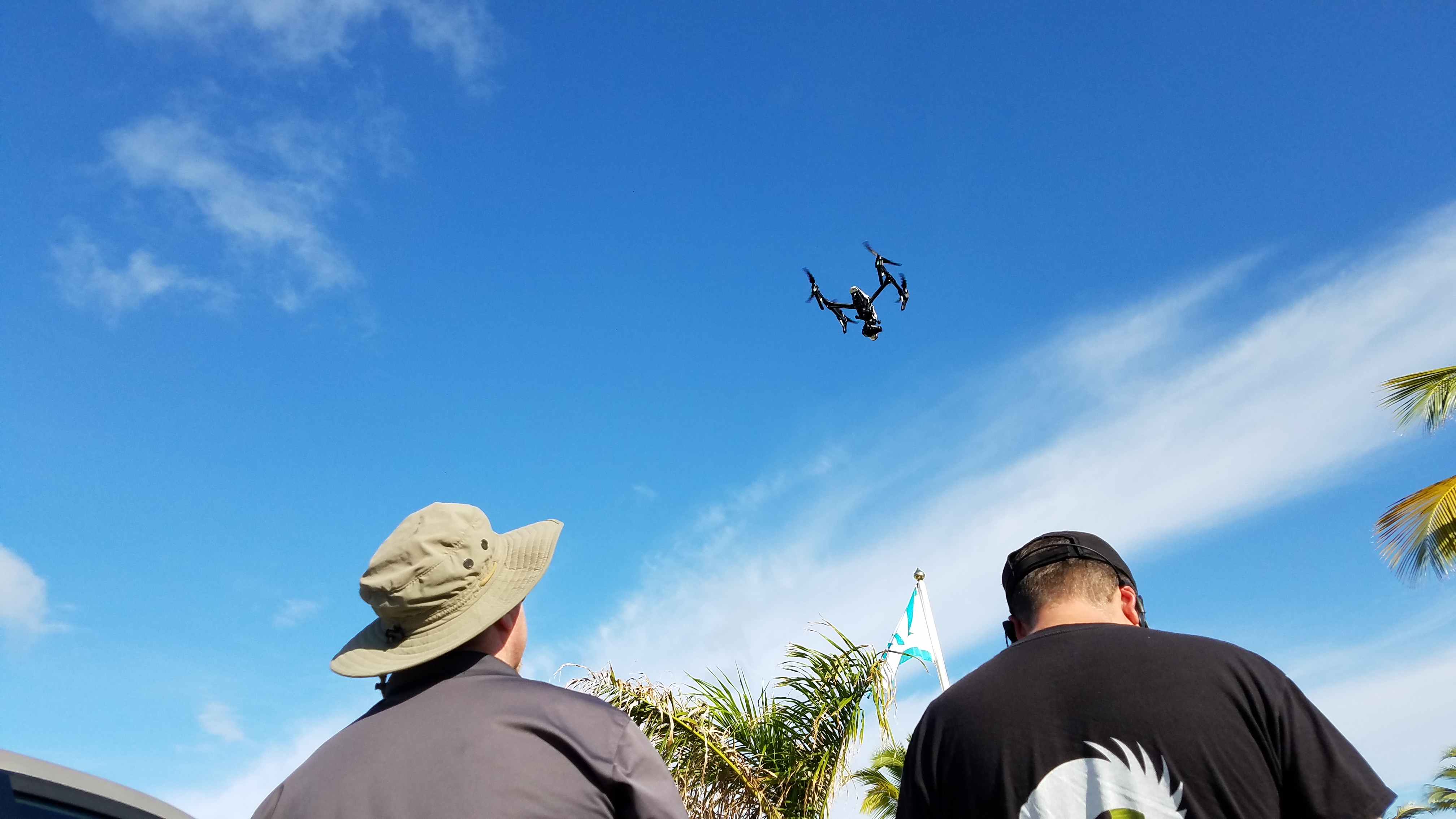 Drones are safe in trained hands