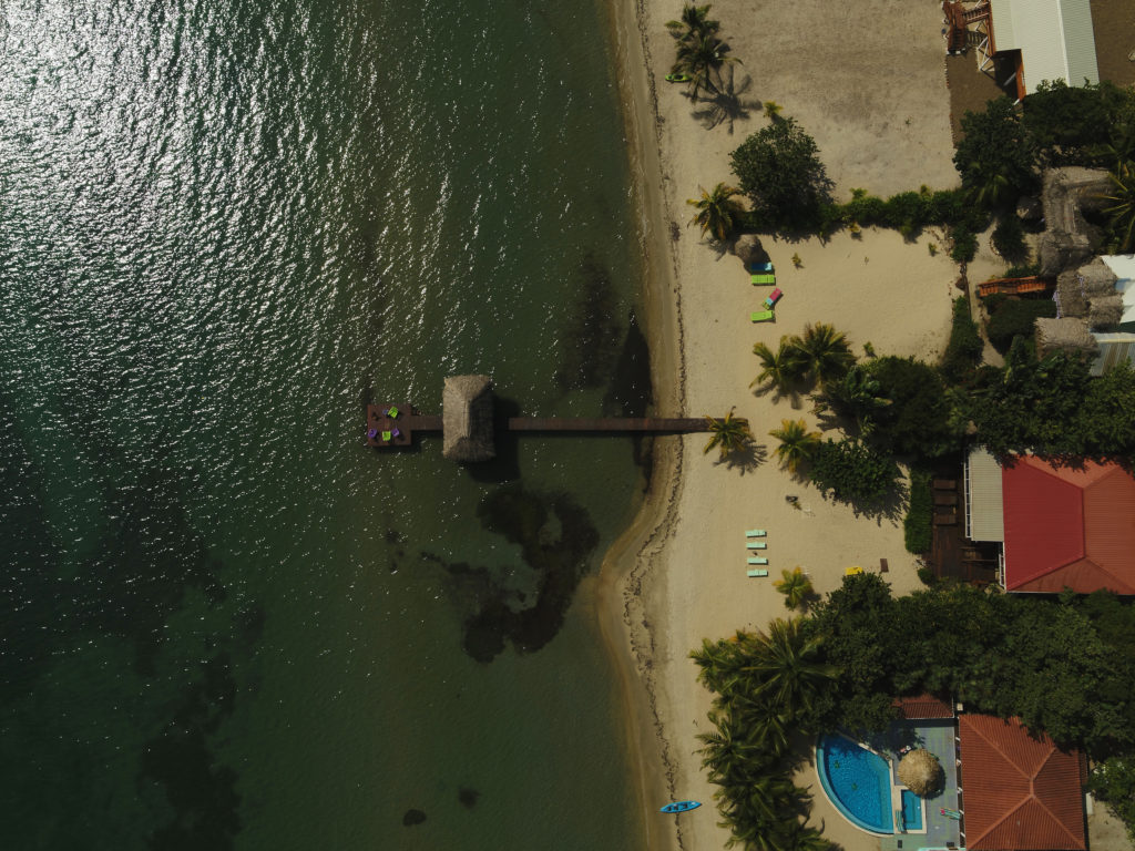 Drones are used to detect beach erosion